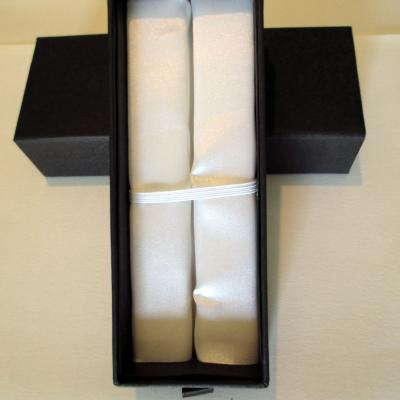Coffret cartonné, intérieur blanc