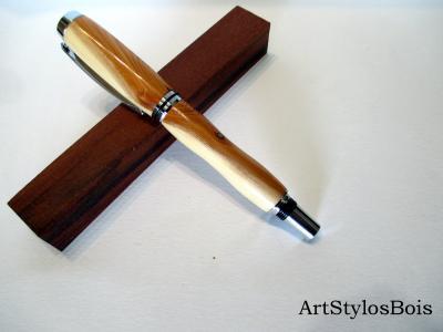 Stylo plume en bois de If, Taxus