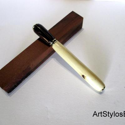 Stylo applicateur de parfum, en bois de Palmier et Erable