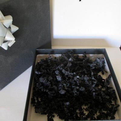 Coffret cadeau boite noire