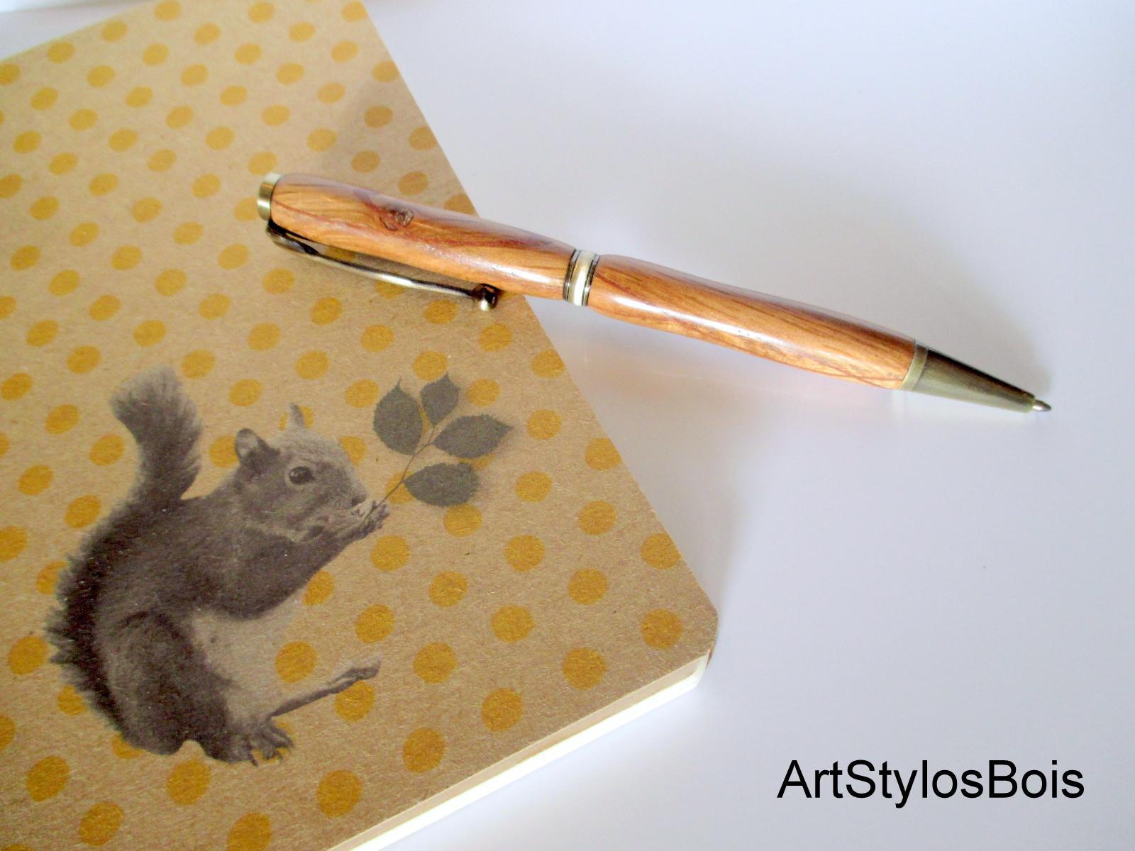 Stylo a crayon en bois de Chêne et plaquage
