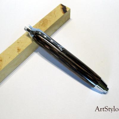 Crayon à dessin, Porte Mine en bois de palmier noir